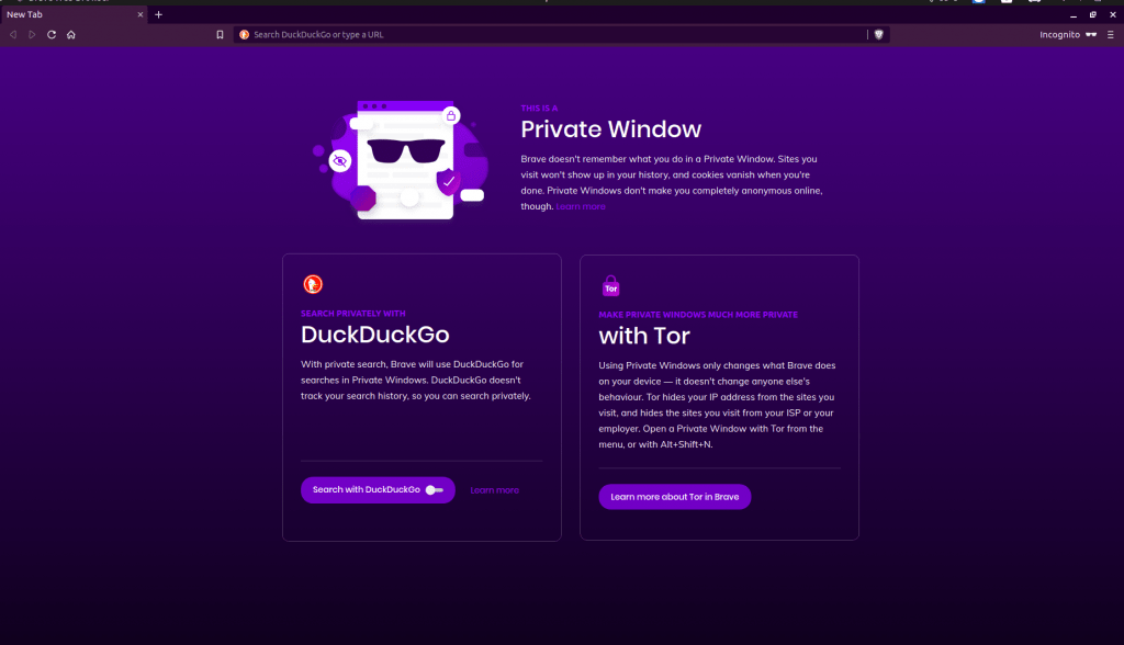 Private Tab