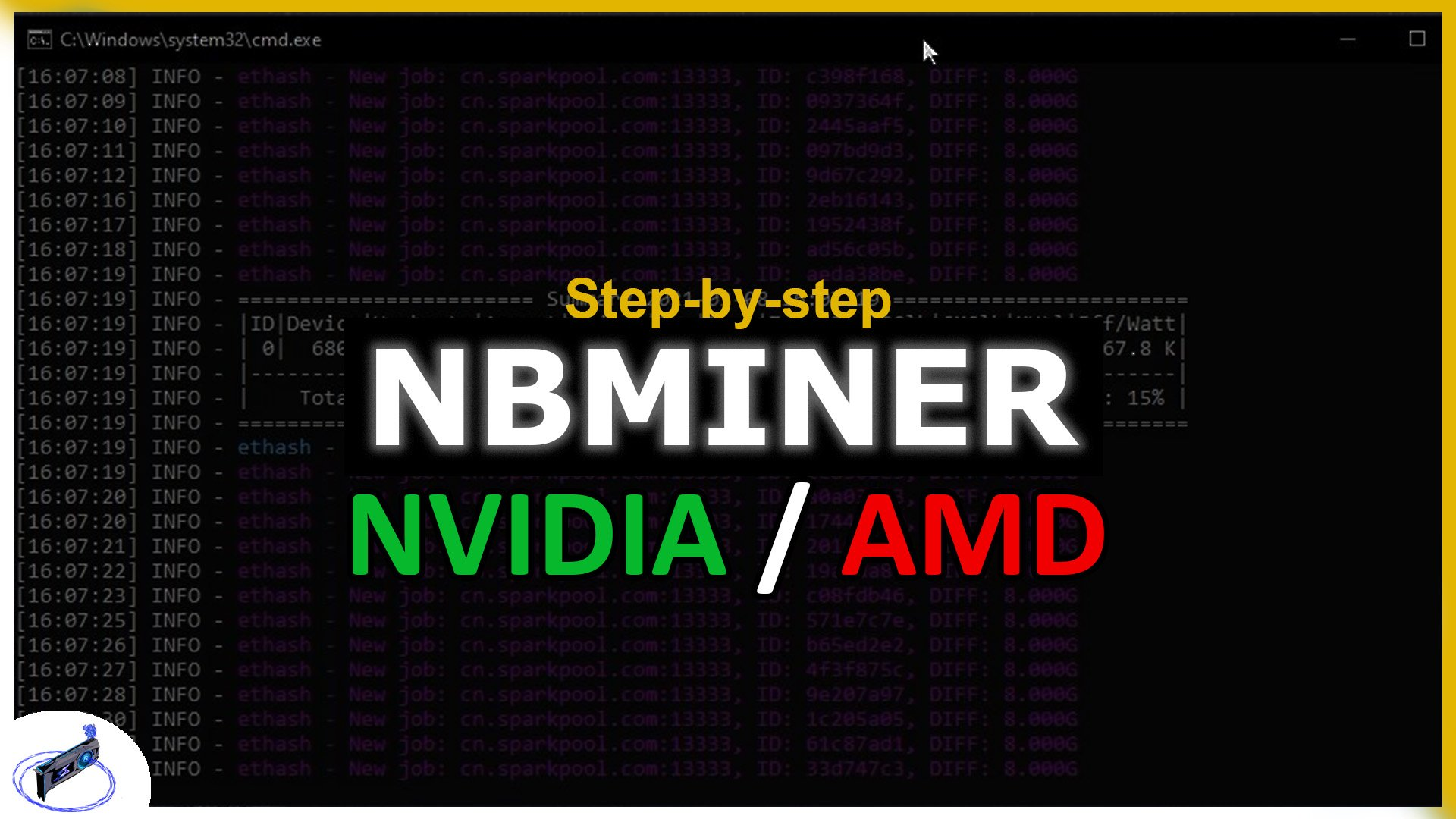 How To Use NBMiner- Step-by-step Tutorial